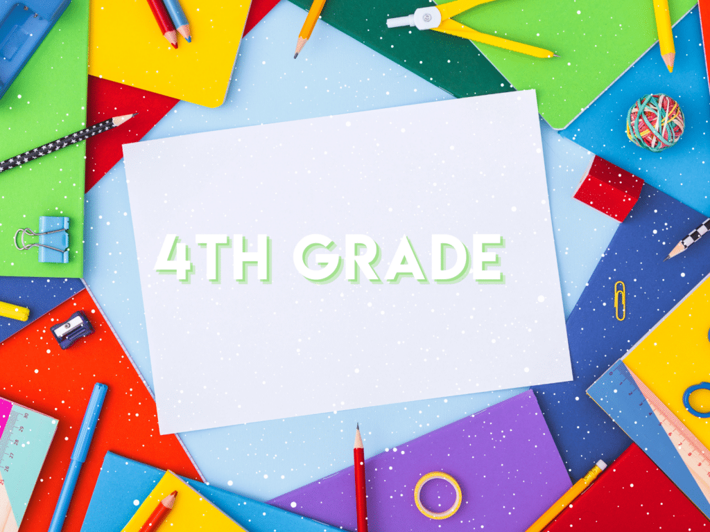 Resources for teaching 4th Grade