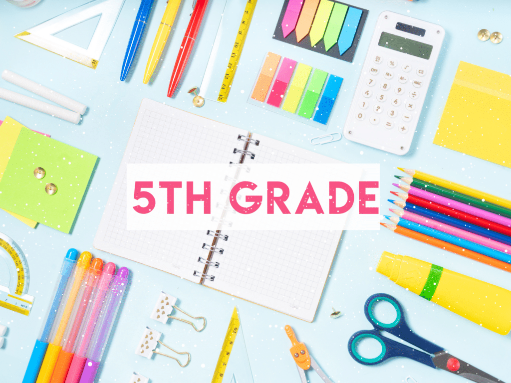 Resources for teaching 5th Grade