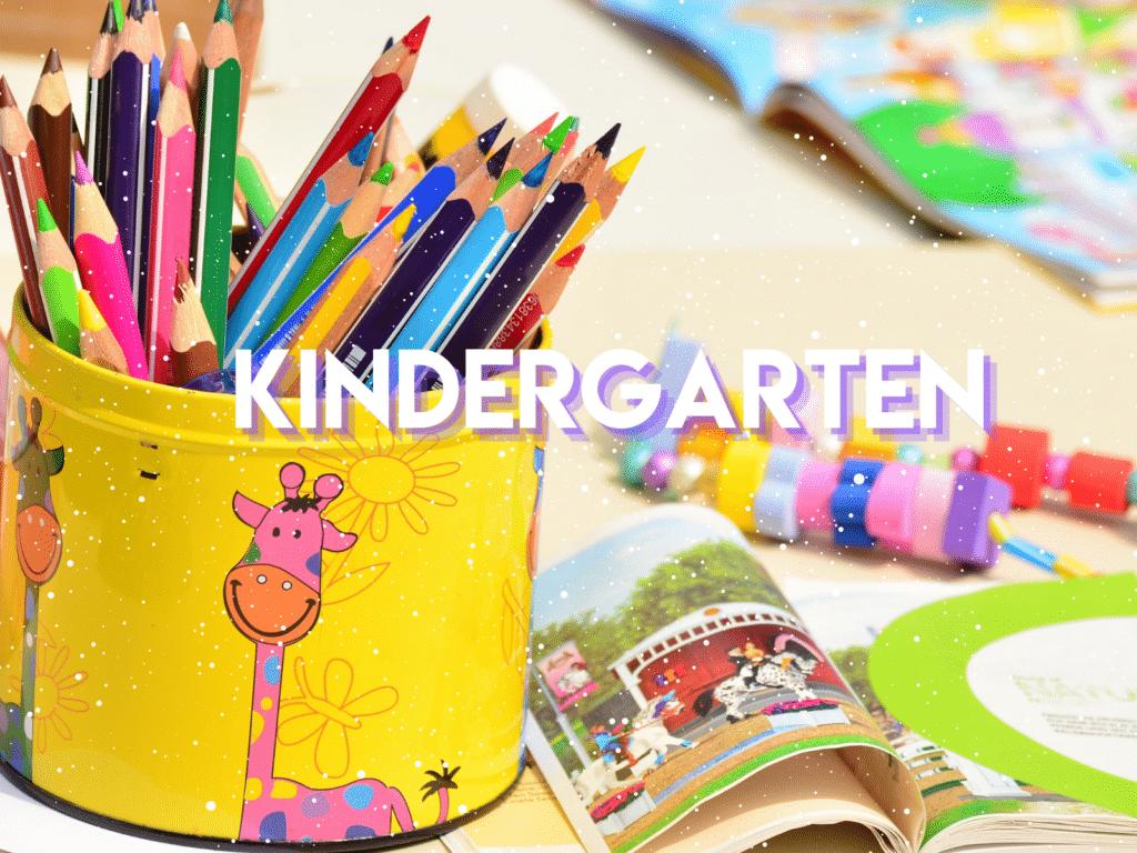 Resources for teaching Kindergarten