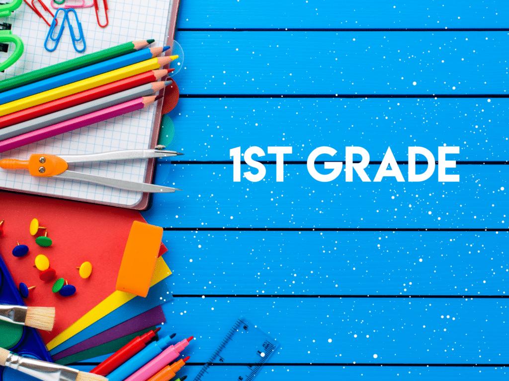 1st Grade - Cover