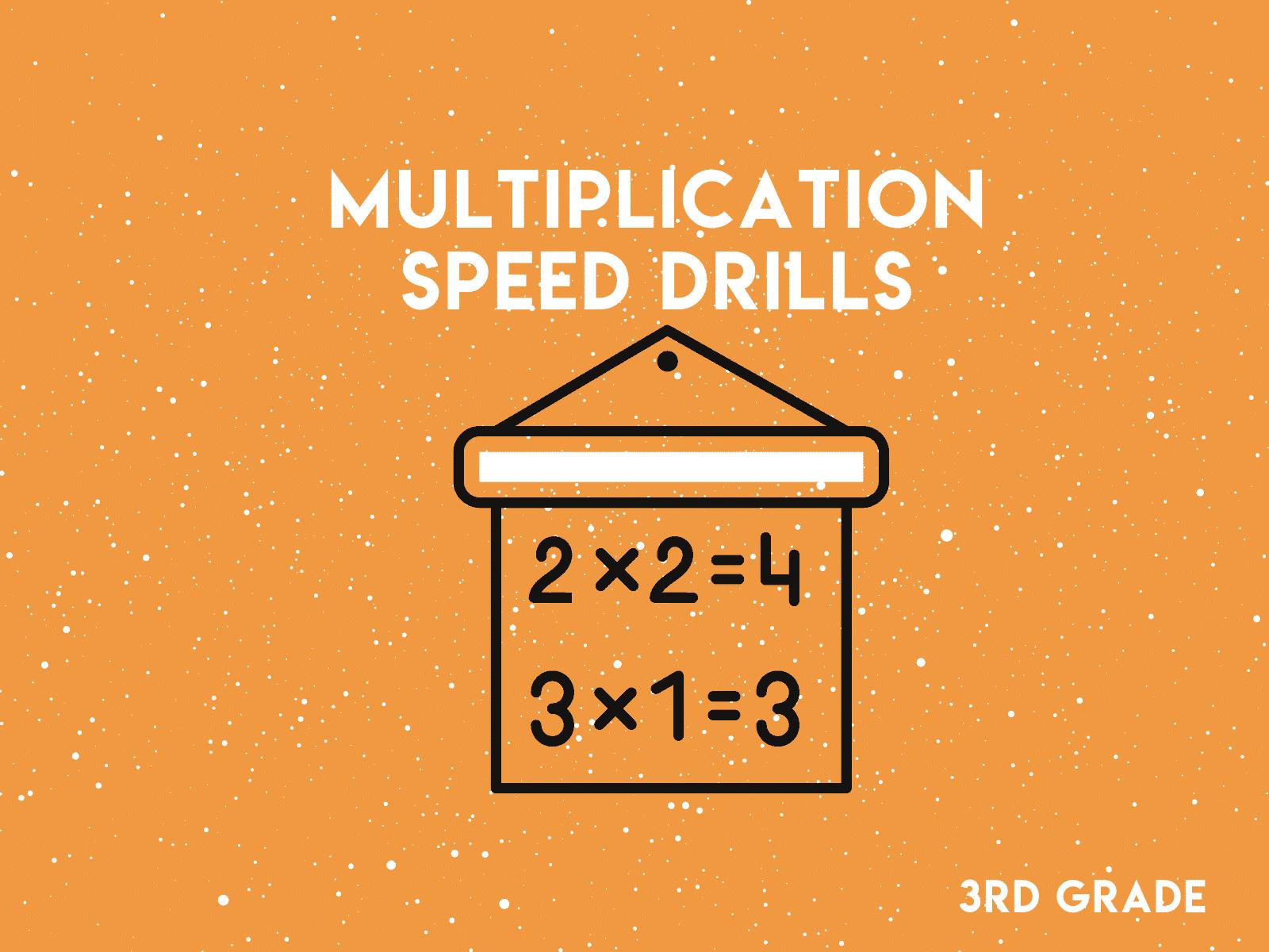 3rd Grade - Multiplication Speed Drills