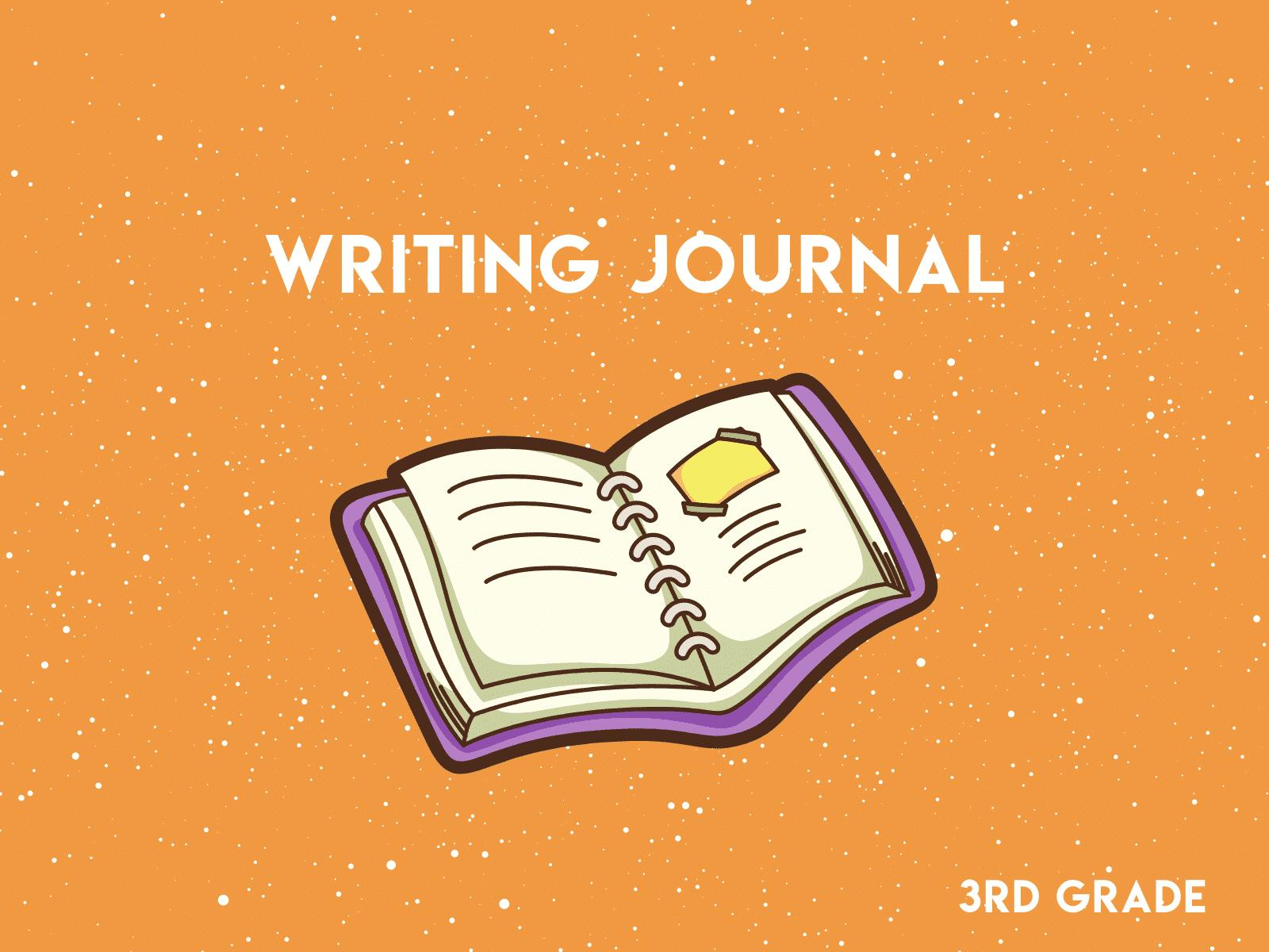 3rd Grade Writing Journal