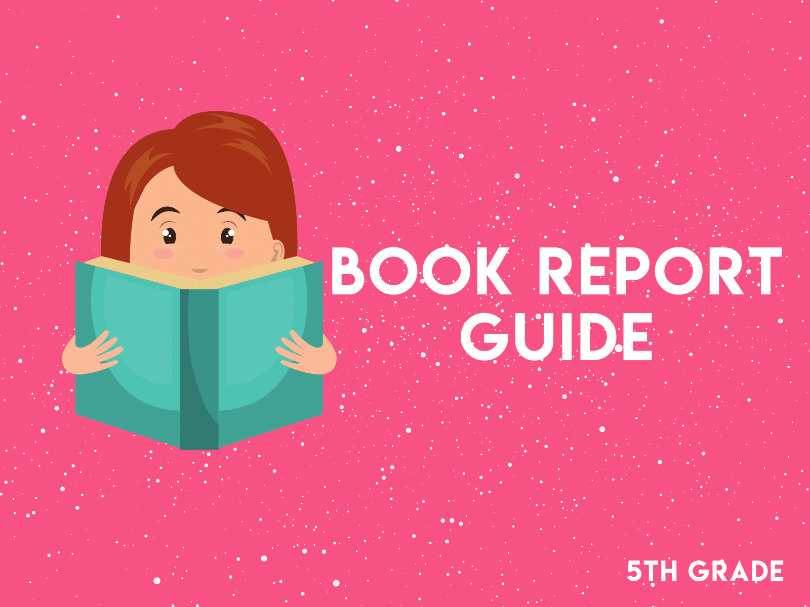 Utilize this free book report guide to help improve fifth grade reading skills.