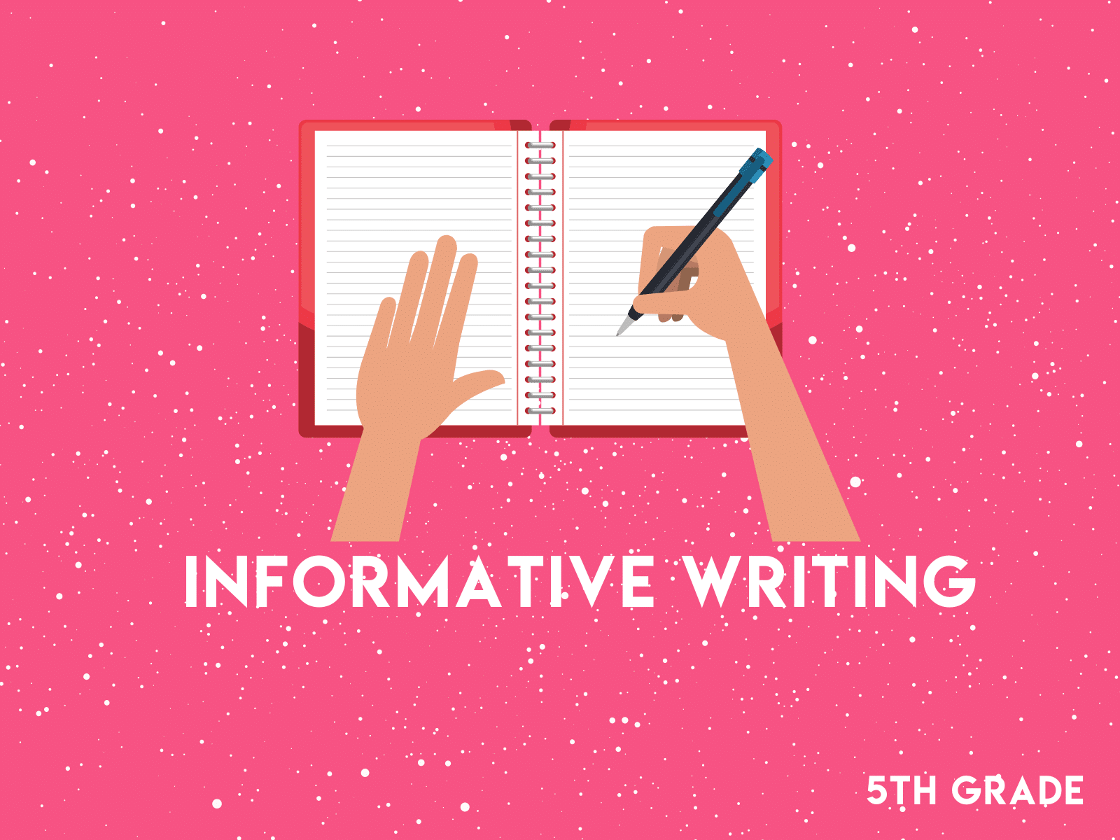 Practice informative writing with this free learning resource for fifth grade.