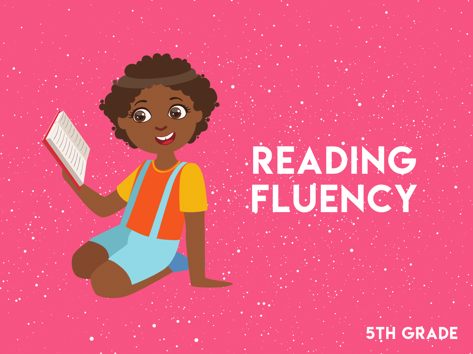 Improve 5th grade reading fluency with this free workbook.