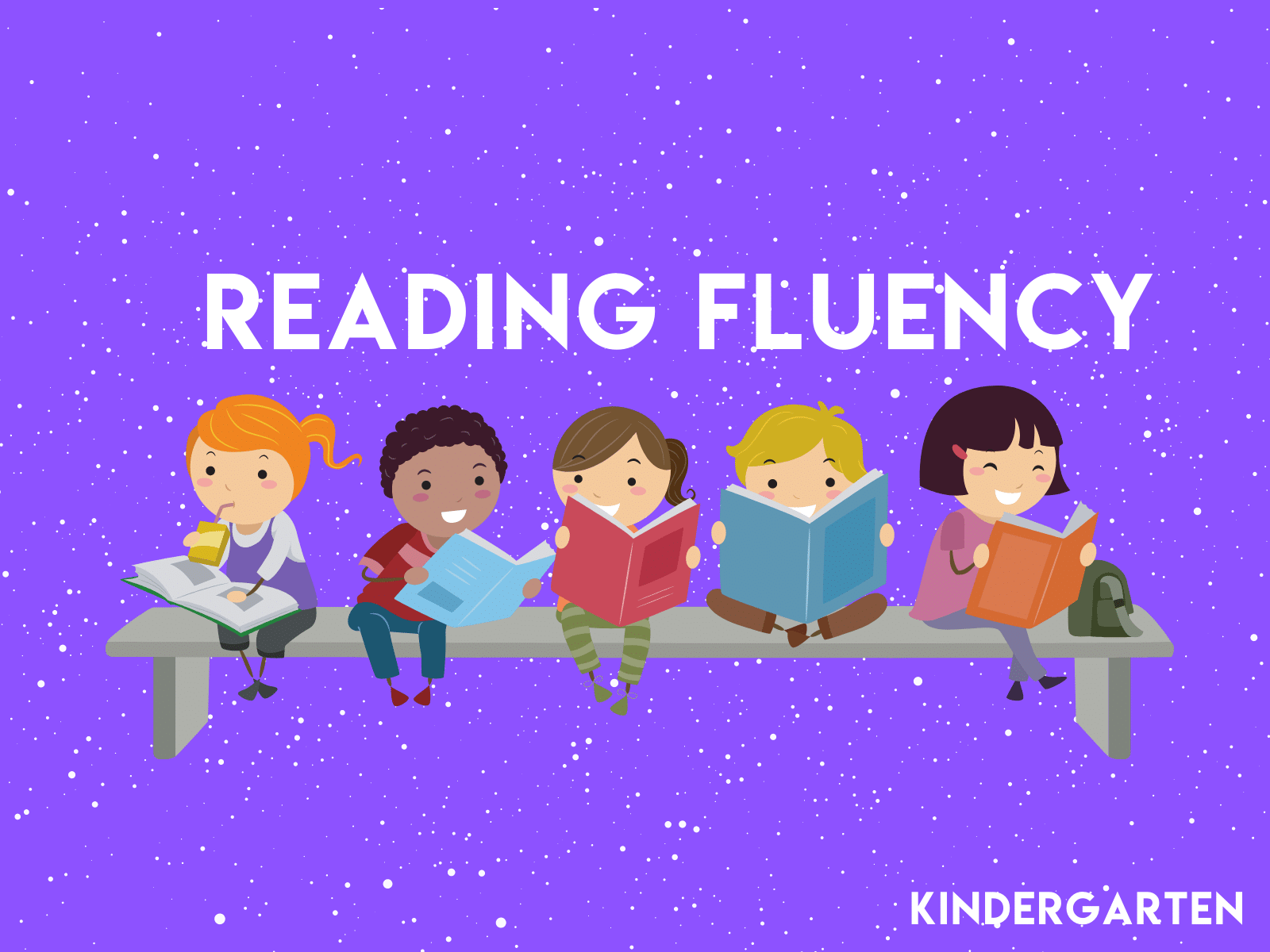 Kindergarten reading fluency worksheets to increase automaticity and reading speed.