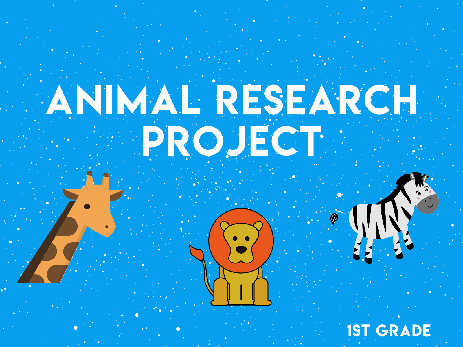 First graders learn the basics of a research project with this fun and free learning resource.