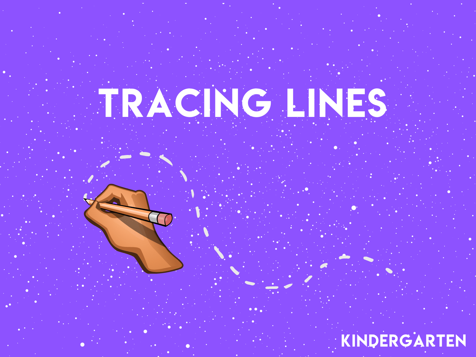 Get your kindergartener ready for number and letter writing with this free line tracing activity.