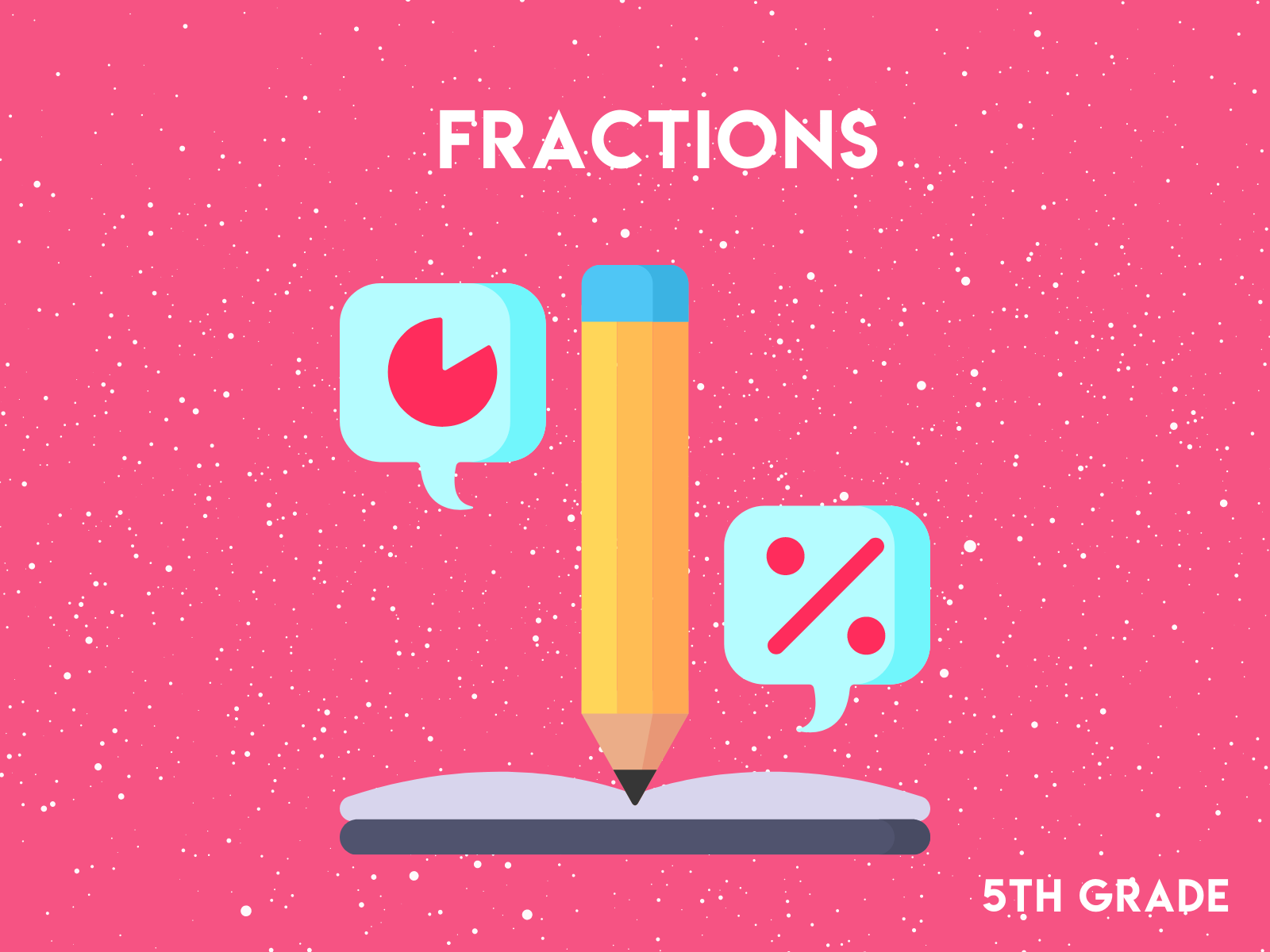 Practice reducing fractions and converting fractions in these free fifth grade math worksheets.