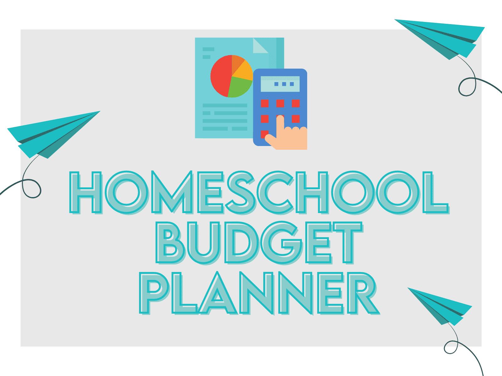 Homeschool budget planner for parents, educators, and teachers.