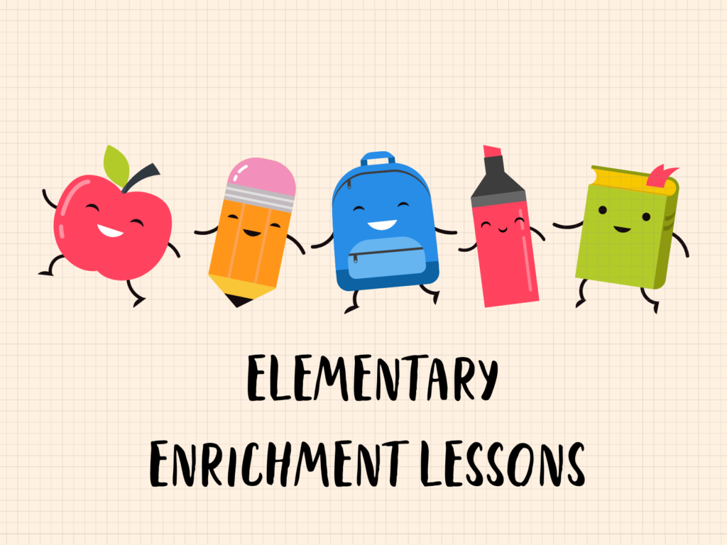 Elementary Enrichment Lessons Graphic