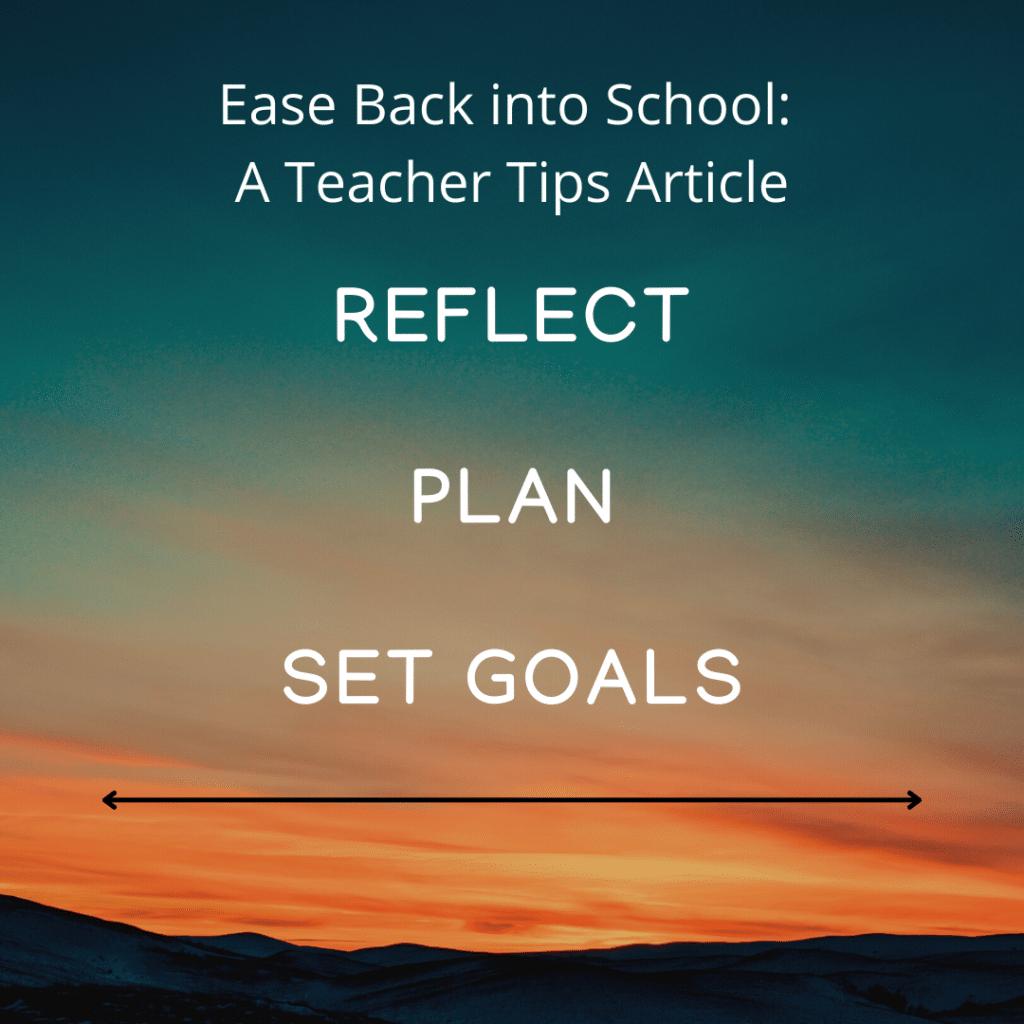 Inspirational Teacher Tips