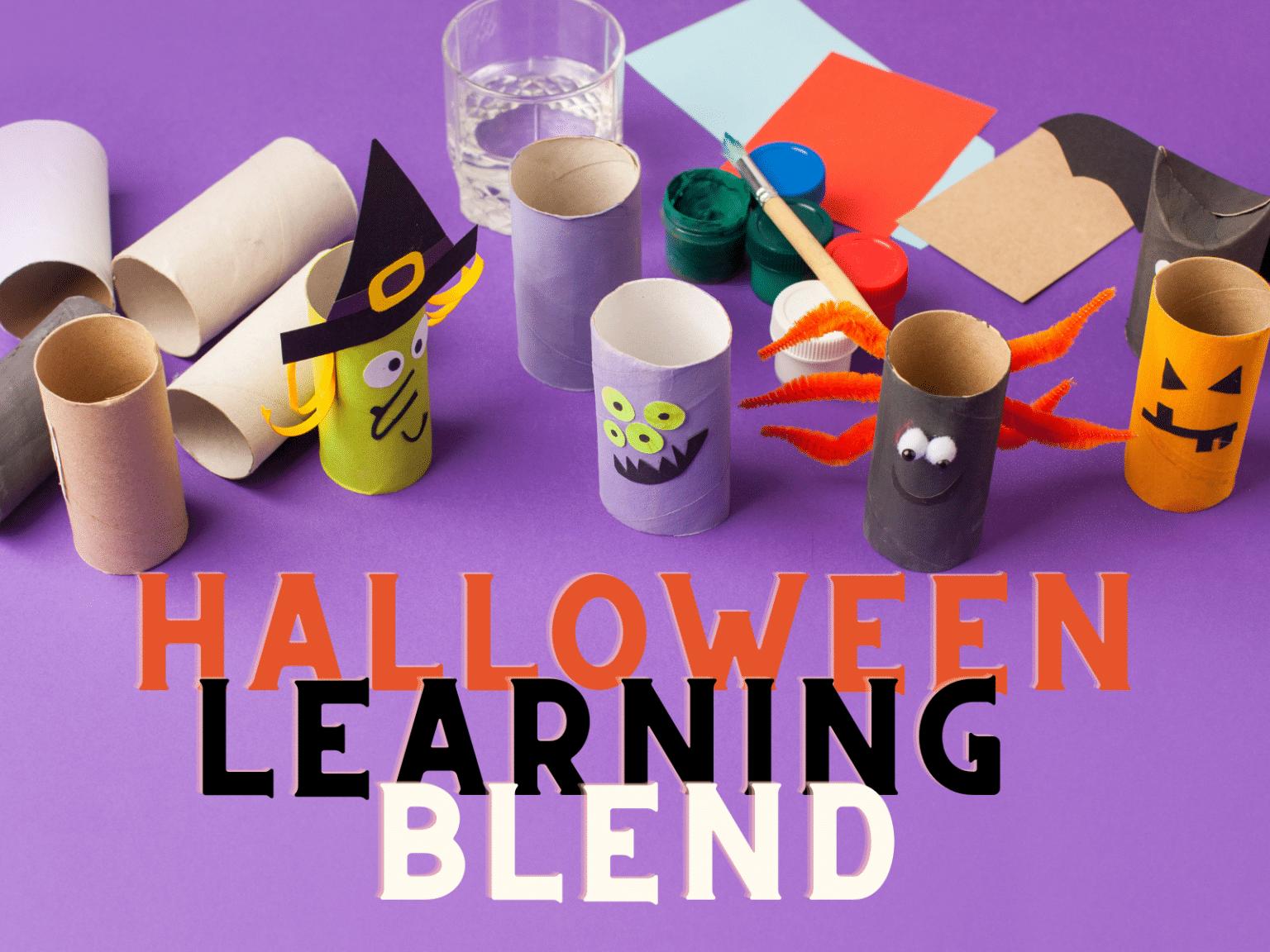 Halloween Learning Blend