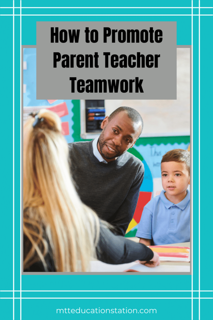 Collaboration towards building great relationships with your children's teachers is key to ensuring their success and happiness in school.